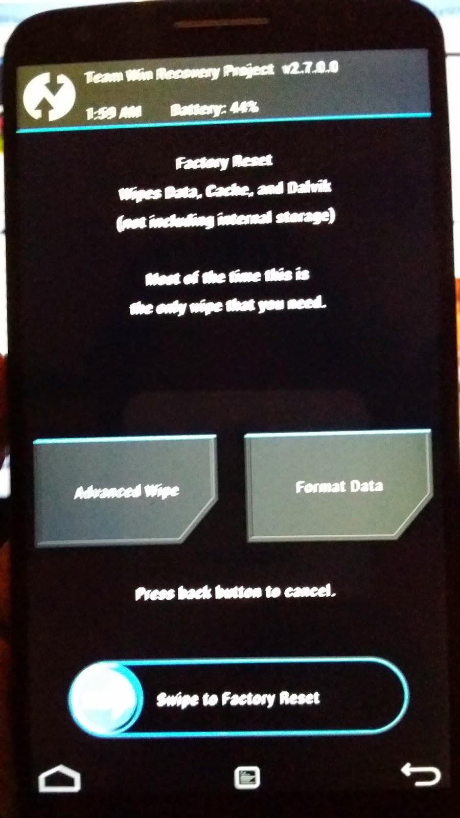 شرح تثبيت روم AICP ROM لجهاز LG G2 | بحرية درويد