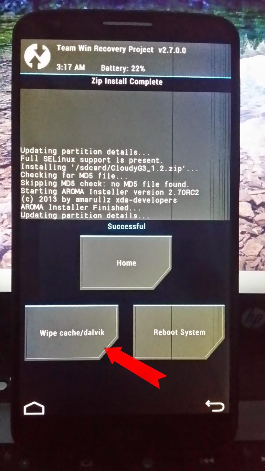 شرح تثبيت روم LG G3 لجهاز LG G2 | بحرية درويد