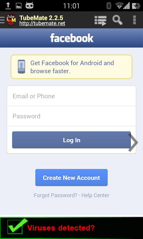 تحميل الفيديوهات من الفيس بوك
