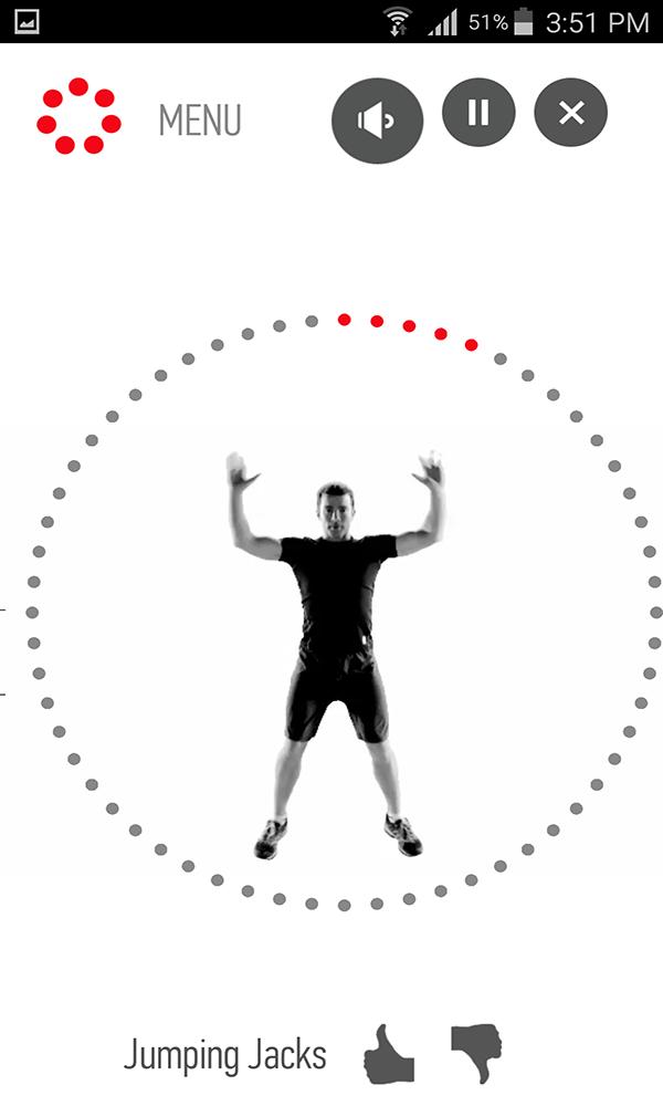 تطبيق للحفاظ على لياقتك البدنية وممارسة الرياضة من اي مكان وفي 7 دقائق فقط | بحرية درويد
