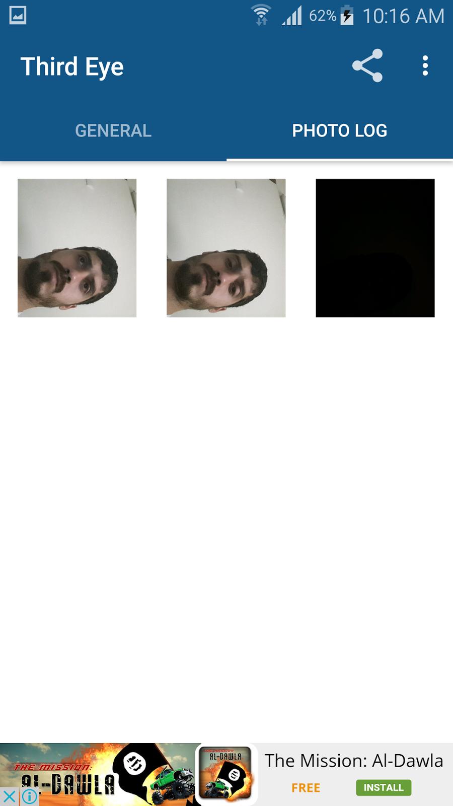 تطبيق Third Eye لتصوير كل متطفل حاول فتح قفل جوالك بدون اذنك | بحرية درويد