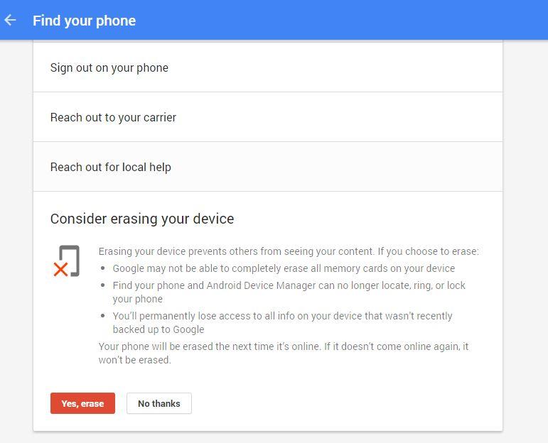 طريقة البحث عن جوالك الاندرويد المسروق وقفله او مسحه باستخدام حسابك على جوجل | بحرية درويد