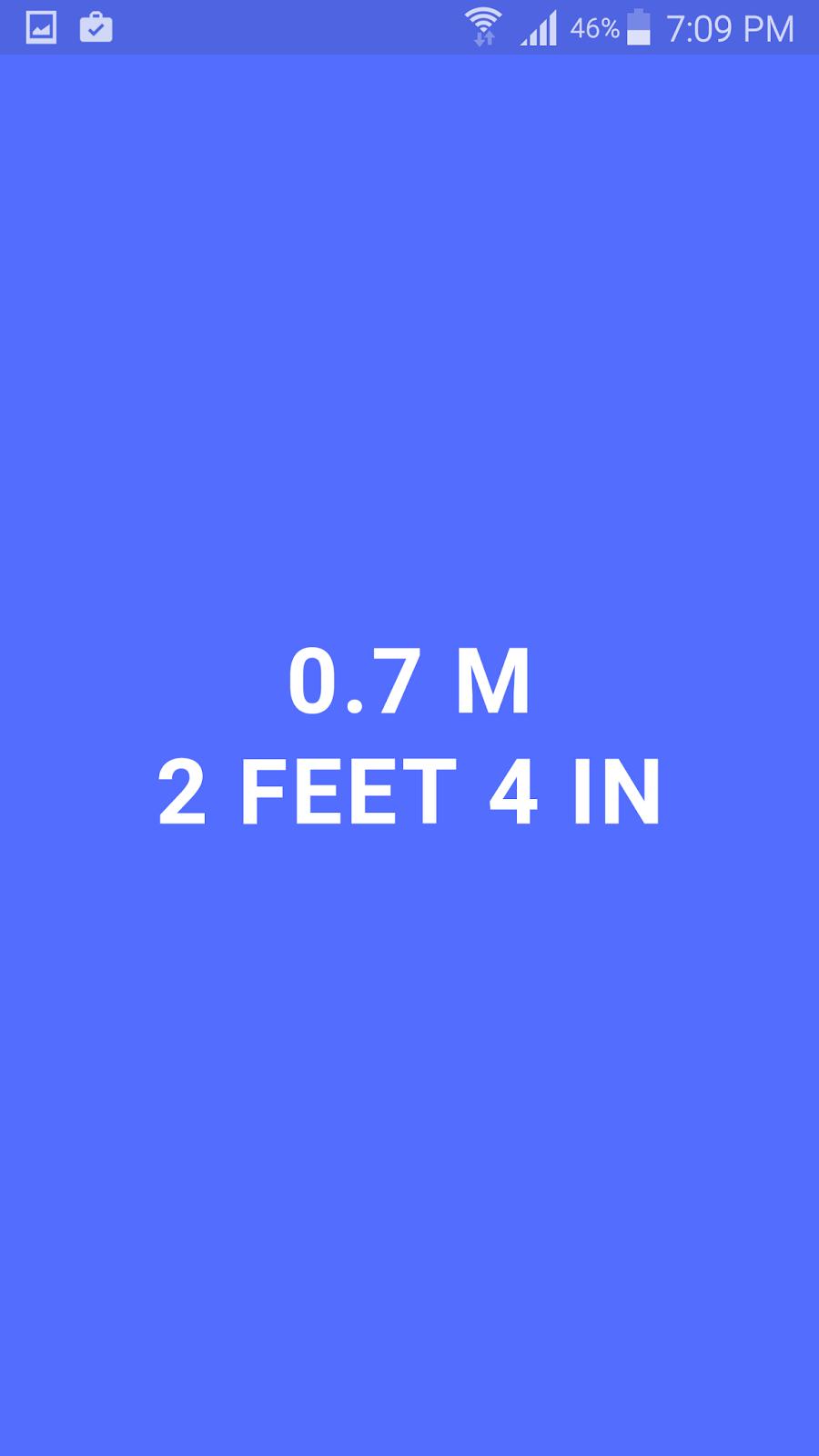 حوّل جوالك الى مسطرة جوال من خلال تطبيق MeasureBot | بحرية درويد