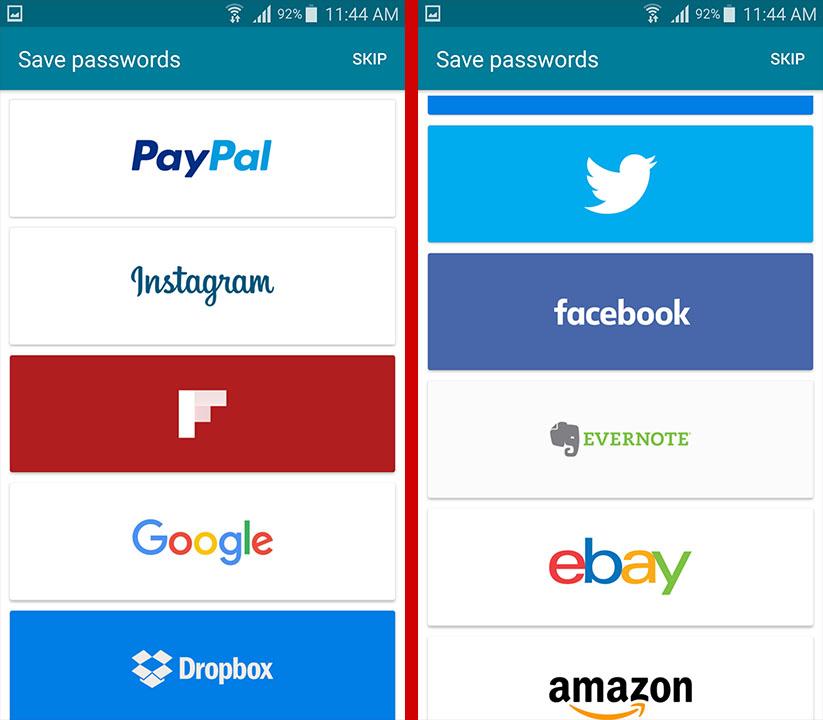 تطبيق Dashlane لحفظ كلمات سر حساباتك وجميع بياناتك الشخصية | بحرية درويد