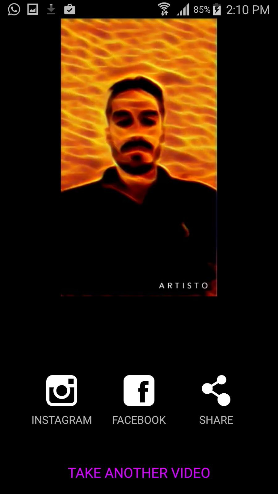 تطبيق Artisto لاضافة تأثيرات والوان اللوحات الفنية للفيديو | بحرية درويد