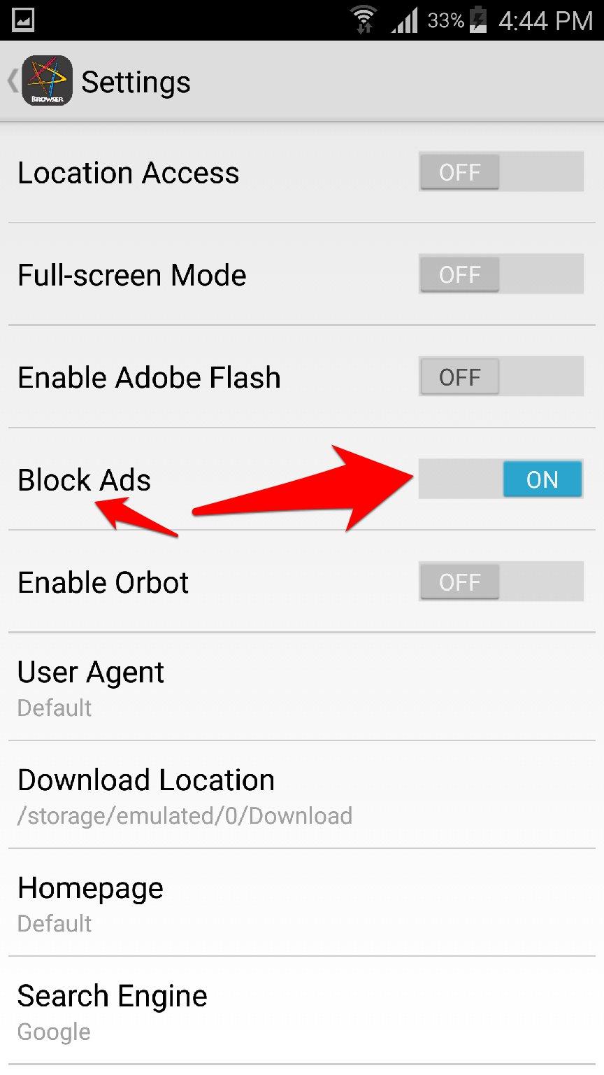 متصفح الانترنت AC Browser سريع خفيف ويحجب الاعلانات | بحرية درويد