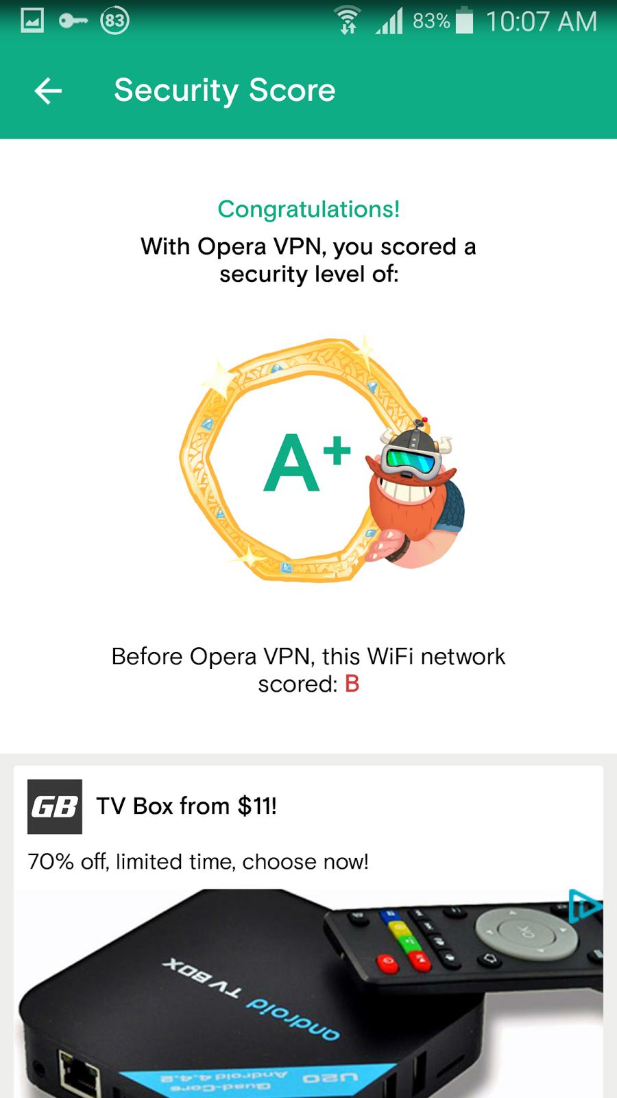 تطبيق Opera VPN لفتح المواقع والخدمات المحجوبة مجانا | بحرية درويد
