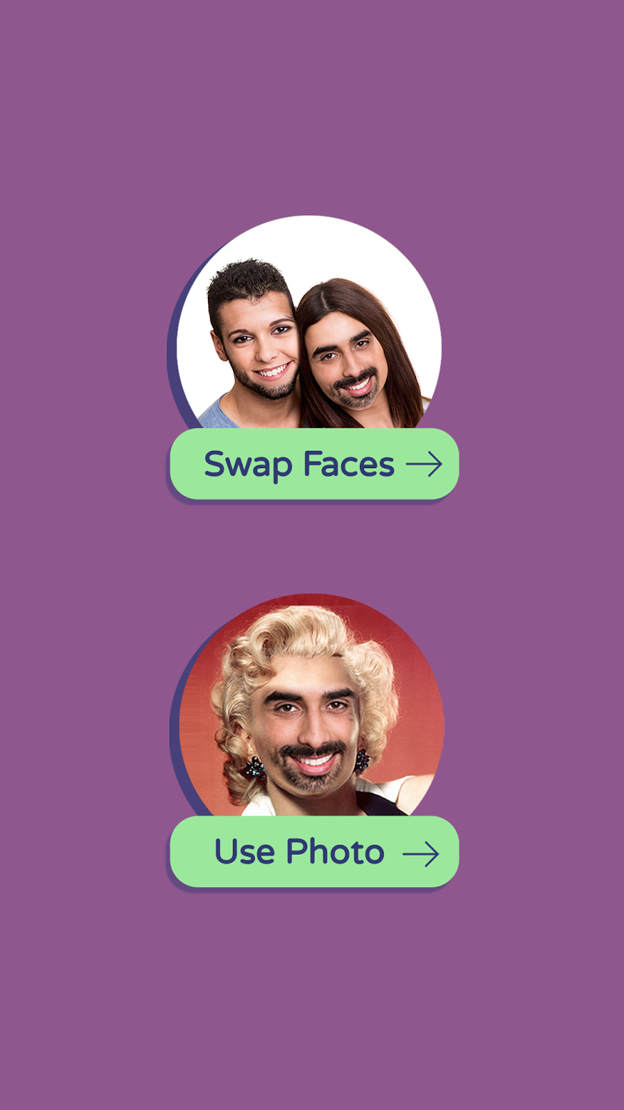 تطبيق Face Swap لاستبدال وجهك باحد المشاهير او بوجه صديقك | بحرية درويد
