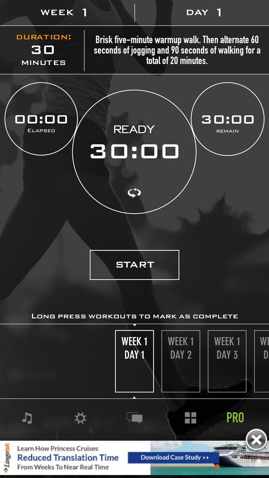 تطبيق Couch to 5K سيساعدك على رفع لياقتك البدنية عبر الركض | بحرية درويد