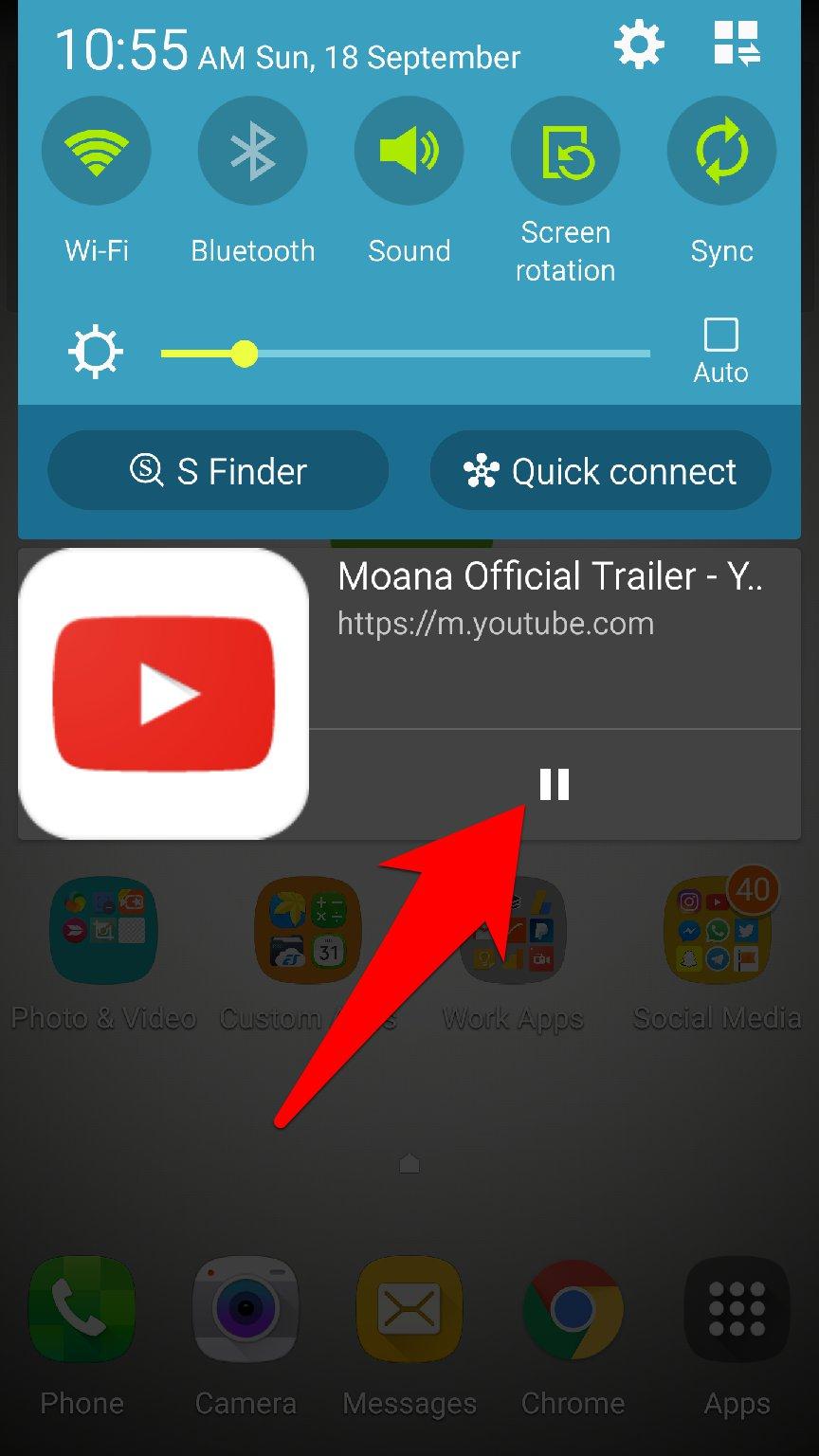 طريقة تشغيل مقاطع اليوتيوب في الخلفية اوالشاشة مغلقة من خلال متصفح Chrome Dev | بحرية درويد