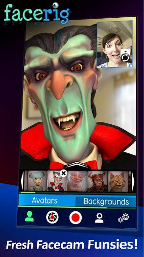 تطبيق FaceRig لاستبدال وجهك بوجوه كرتونية ثلاثية الابعاد | بحرية درويد
