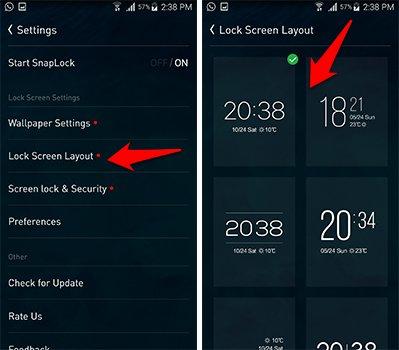 تطبيق SnapLock سيغير طريقة عرض شاشة القفل كليا | بحرية درويد