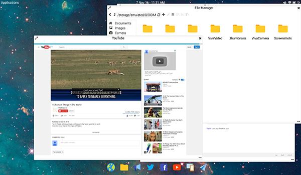 تطبيق Leena Desktop سيحول واجهة جوالك الى كمبيوتر | بحرية درويد