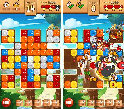 لعبة الطيور الغاضبة الجديدة Angry Birds Blast ورابط تحميلها | بحرية درويد