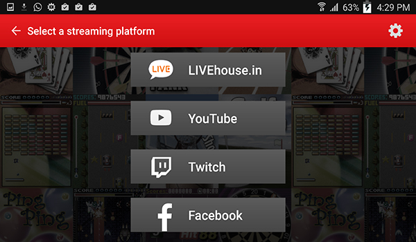 تطبيق Live in Five لعمل بث مباشر للالعاب من جوالك على فيسبوك ويوتيوب | بحرية درويد