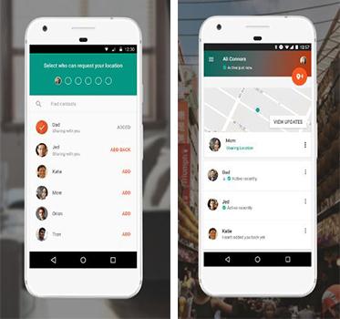 تطبيق جوجل Trusted Contacts لتحديد مكان اي شخص على الخريطة | بحرية درويد
