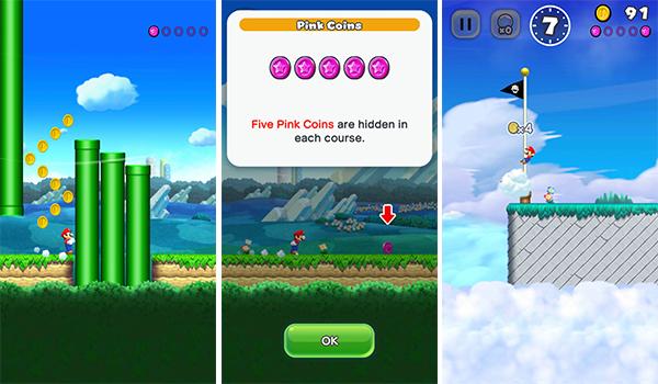 الهدف في لعبة Super Mario Run