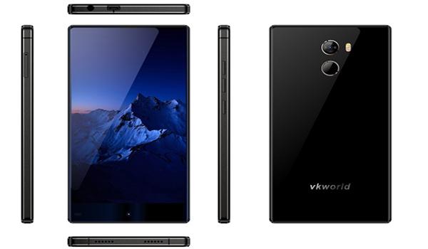 احصل على جوال Vkworld Mix Plus بدون حواف وشاشة كبيرة | بحرية درويد