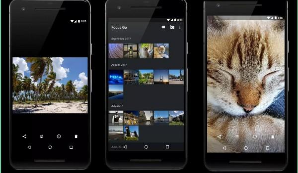 تطبيق Focus Go معرض صور بديل لمعرض الصور الافتراضي | بحرية درويد