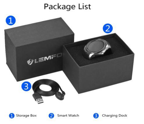 عرض اليوم: الساعة الذكية LEMFO LF17 بتصميمها الرياضي ونظام الاندرويد | بحرية درويد