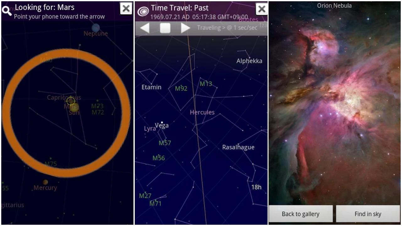 تعرف على ما تخفيه السماء من نجوم وكواكب مع تطبيق بسيط للأندرويد | بحرية درويد