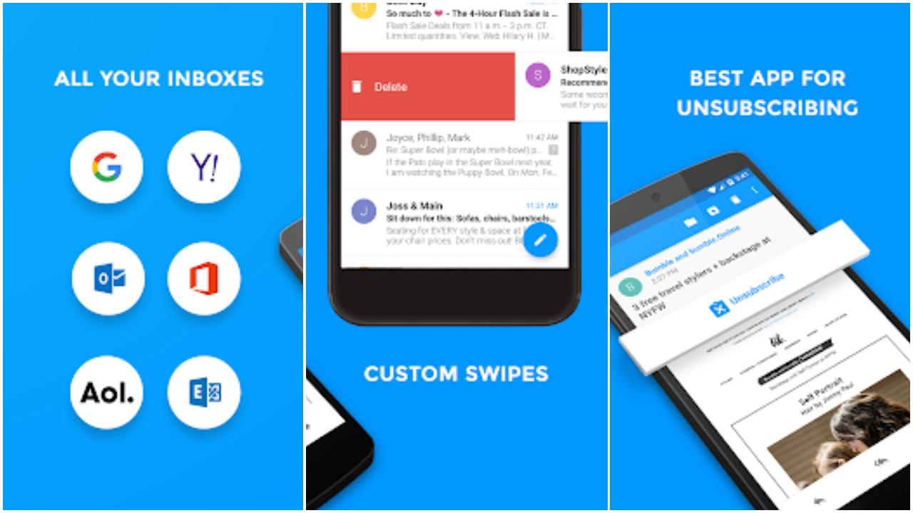 حمل تطبيق Email by Edison : جميع حسابات البريد الإلكتروني في مكان واحد | بحرية درويد
