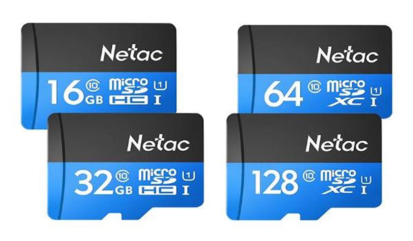 بطاقة الذاكرة الخارجية Netac P500 Class 10