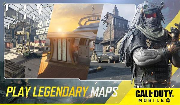 ما هي انواع الخرائط في لعبة Call of Duty Mobile ؟؟