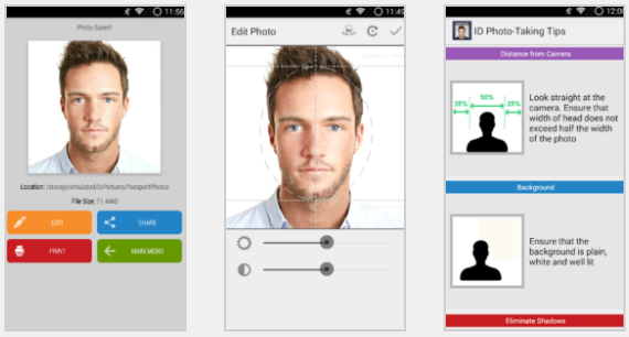 تطبيق Passport Photo ID Studio