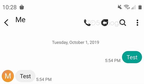 سامسونج تعمل مع جوجل على ربط تطبيق ديو بتطبيق الرسائل النصية في جوالاتها | بحرية درويد